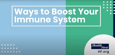 Boost Immune System and Health First Logo